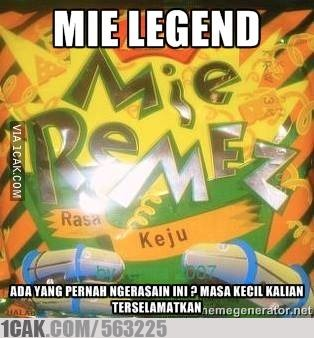 Mie Legend 1cak For Fun Only