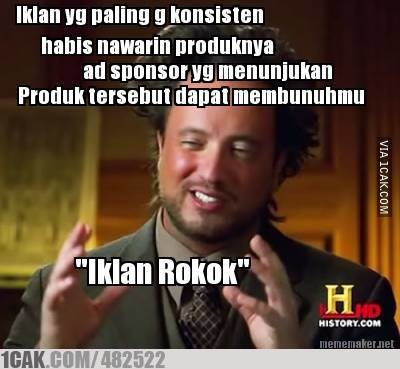 Logic Iklan Rokok 1cak For Fun Only